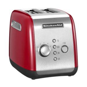KitchenAid 5KMT221EER Toaster für 2 Scheiben, rot
