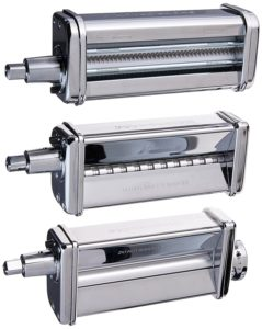 Kitchenaid 5KPRA 3- Nudelvorsatz-Set - Lasagne, Tagliatelle oder Spaghetti